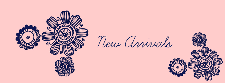 flower doodle theme new arrivals pink