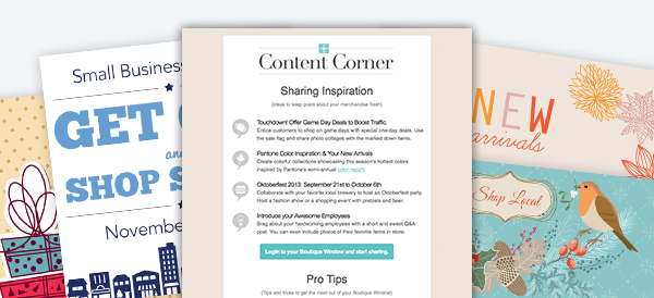 be inspired by our content ideas 2013