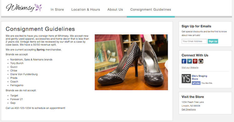 introducing custom pages in your boutique window 2014