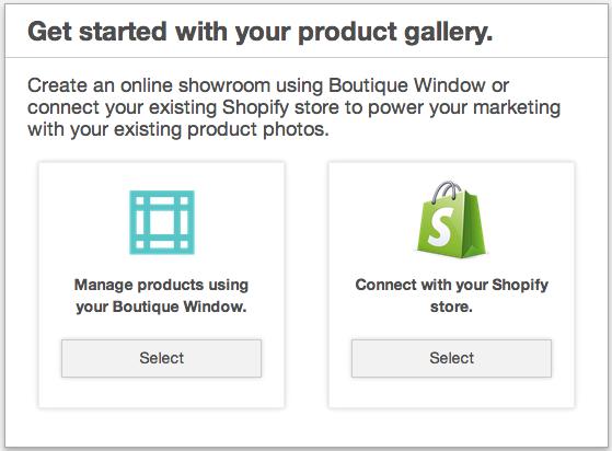 connect your shopify store 2014