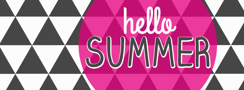 summer hello geometric triangle circle facebook