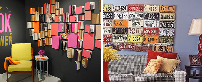 collections wall display inspiration june 2014
