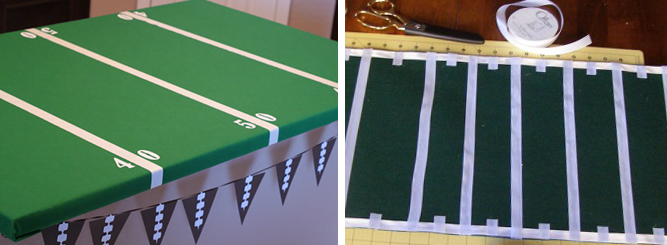 game day inspired football field 2014