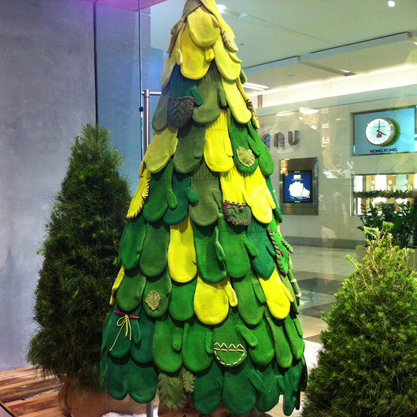 Indie Holiday Displays Christmas Trees Boutique Window