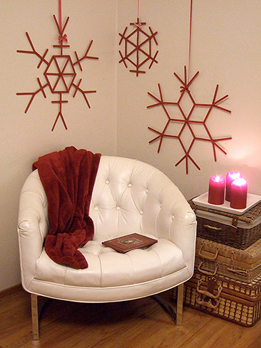 popsicle stick snowflakes 2014