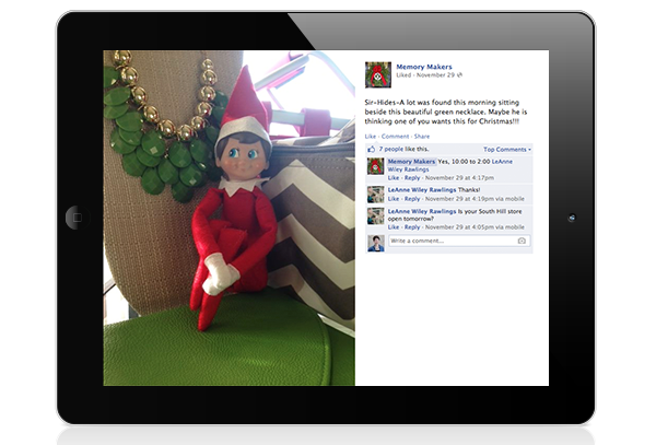 elf on the shelf daily deals 2014