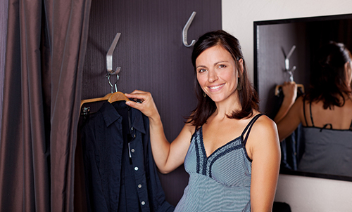 building beautiful fitting rooms be able to help